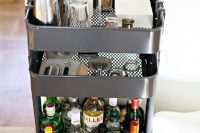 you should know you can use a cheap RASKOG utility cart from ikea