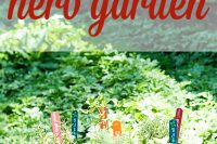 The most easy DIY herb garden for your patio.