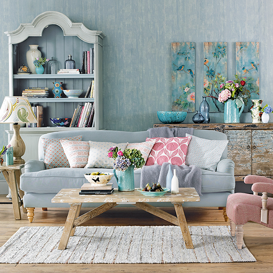 Colorful Shabby Chic Rooms Are Less Popular But Looks Good Too