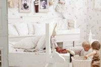 lovely shabby chic bedroom for a kid