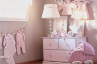 shabby chic girl rooms could be all pink