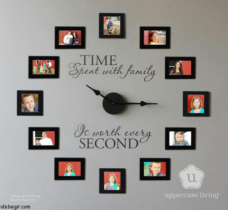 New Family photo clocks