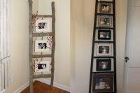 family photo ladder
