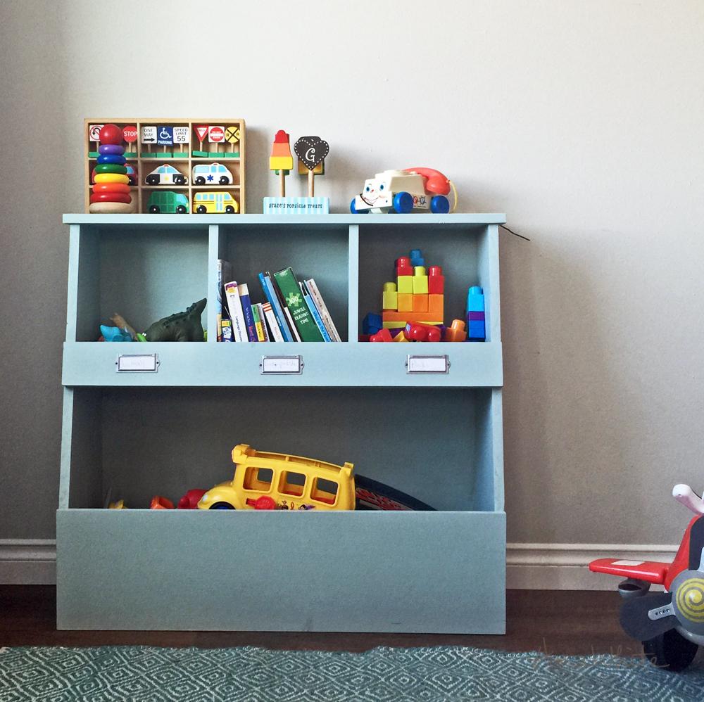 Toy Storage Bin Box