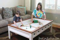 Kid-friendly coffee table