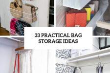 33 practical bag storage ideas cover