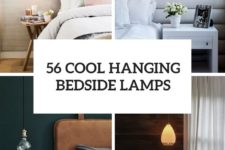 56 cool hanging bedside lamps cover