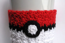 Poke ball cozy pattern (perfect for those who enjoy looking for these cute little critters)