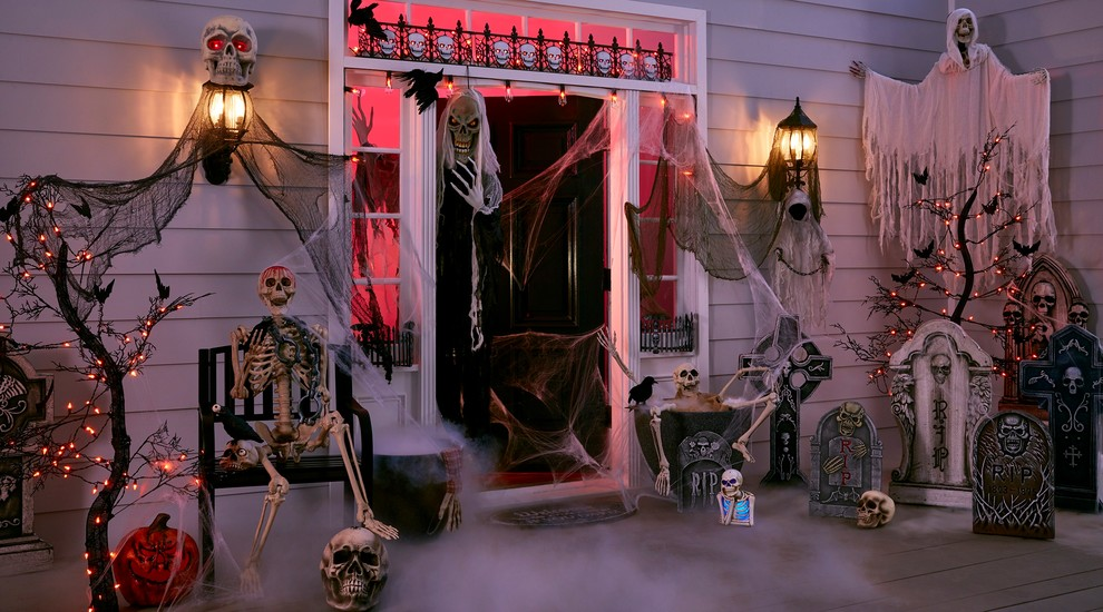 Diy Outdoor Halloween Decor