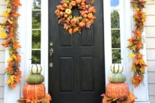 45 cute and cozy fall and halloween porch decor ideas