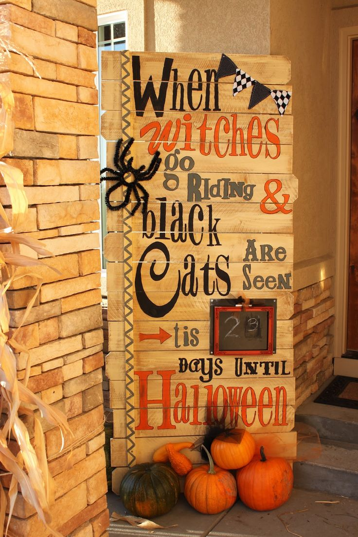 70 cute and cozy fall and halloween porch décor ideas - shelterness