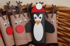 Mini Reindeer and Penguin