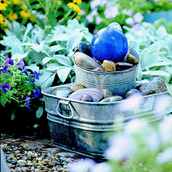 Simple Water Features For The Garden: 25 Awesome Handmade Outdoor Fountains
