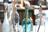 Turning  Recycled Glass Bottles Into Vintage Oil Lamps is EASY!
