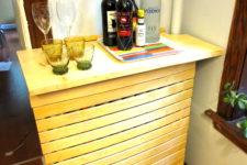 IKEA hack radiator makeover
