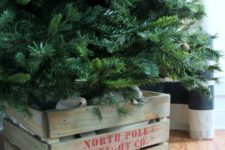 North Pole crate