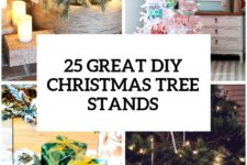 10 great diy christmas tree stands and bases