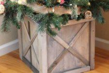 Scrap Wood Crate Box