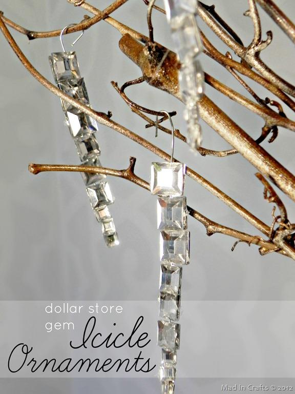gem icicles (via madincrafts)