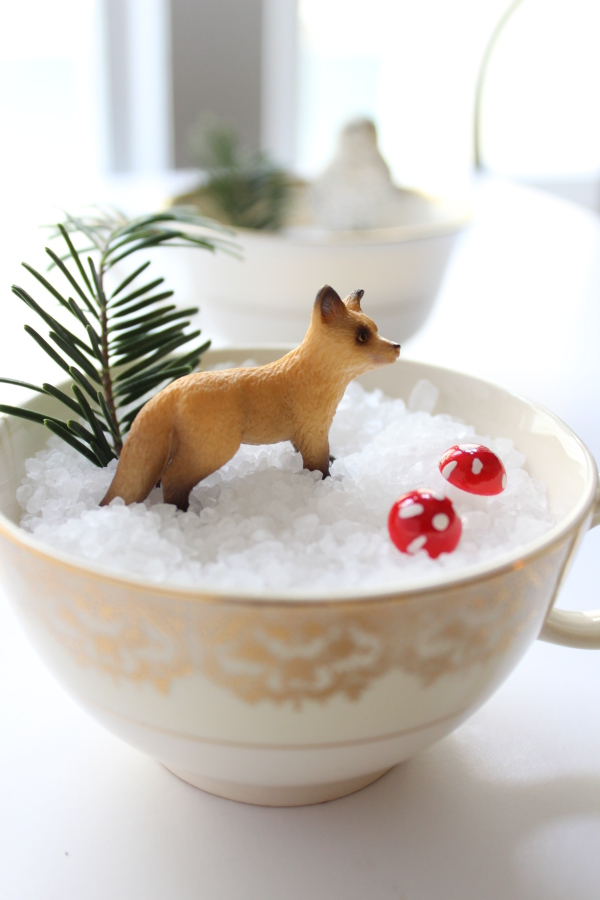 tea cup snow scenes (via valleyandcolifestyle)