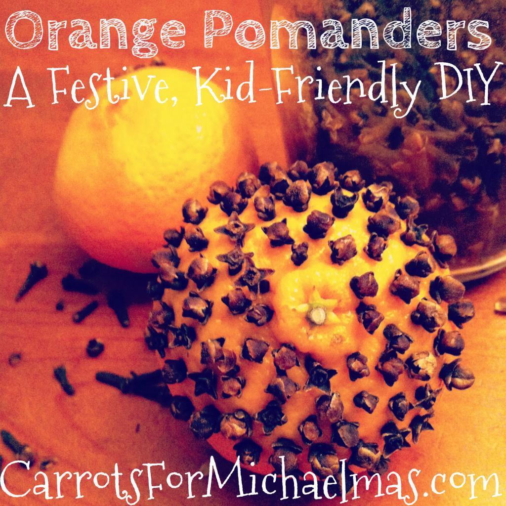 kids friendly pomanders