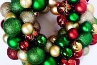 dollar tree ornament wreath