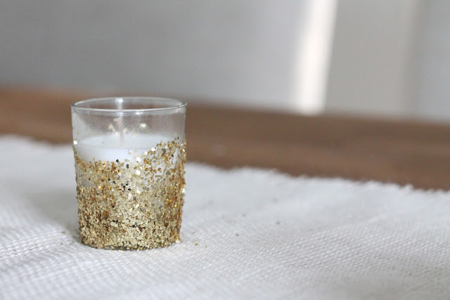 glitter votives (via julieblanner)