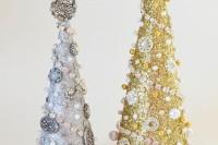 glitter glam trees