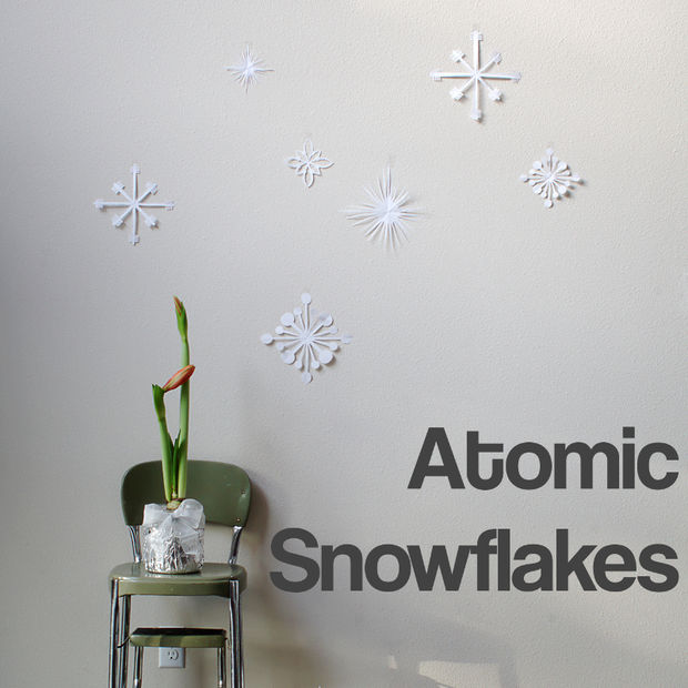 atomic snowflakes (via instructables)