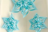 big paper snowflakes