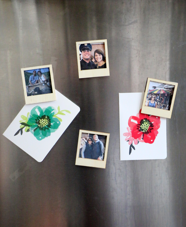 Picture Of diy polaroid magnets from instagram pictures  6