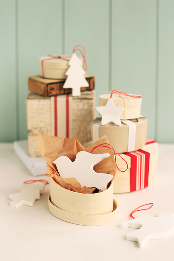 DIY Scandinavian-Inspired Christmas Clay Ornaments