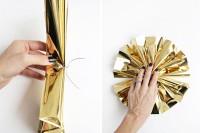 diy-sparkling-gold-mylar-pompom-garland-5