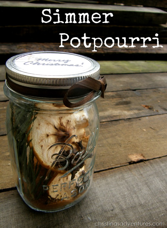 simmer potpourri and gift