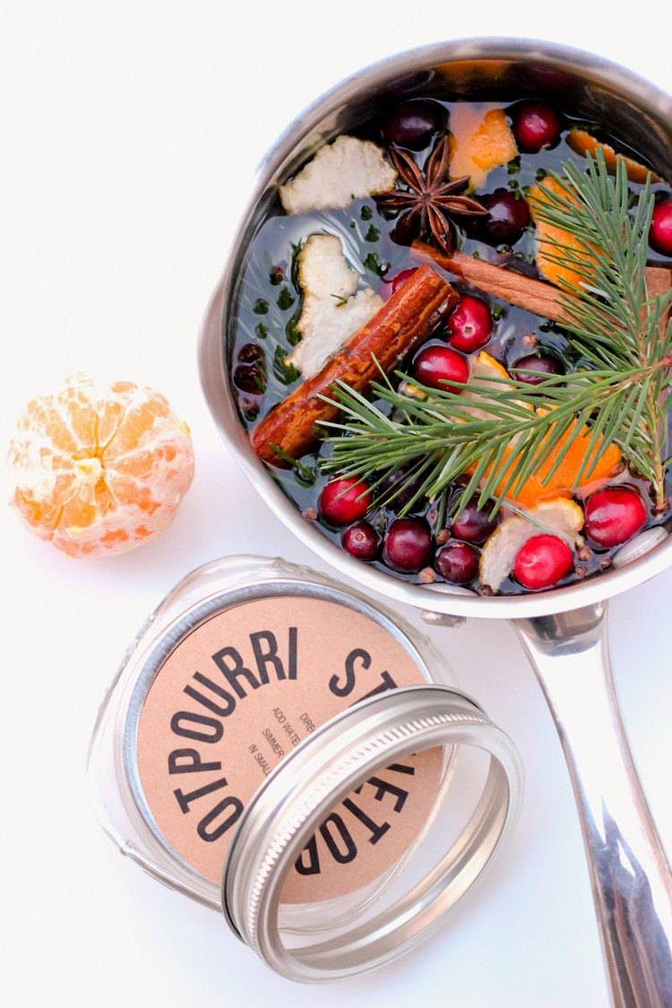stove top potpourri (via deliacreates)