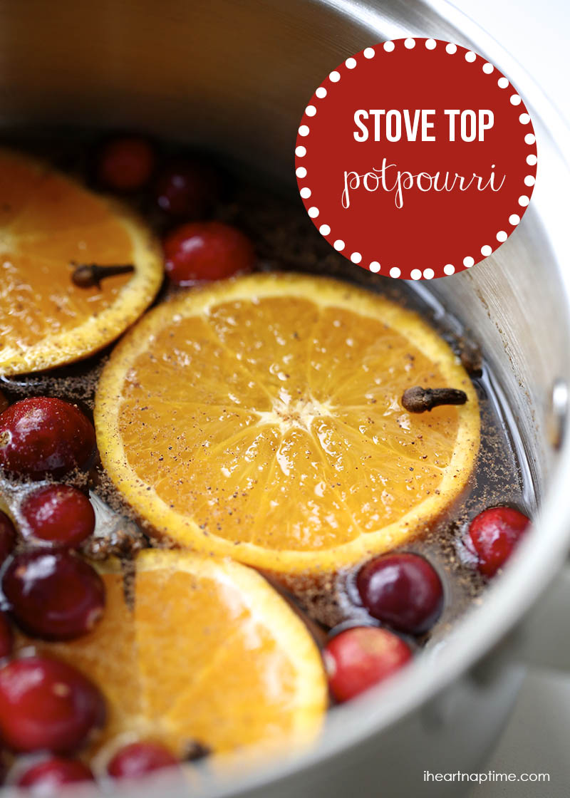 citrus and cranberry potpourri