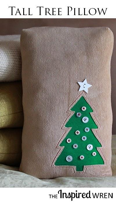 tall tree pillow (via theinspiredwren)