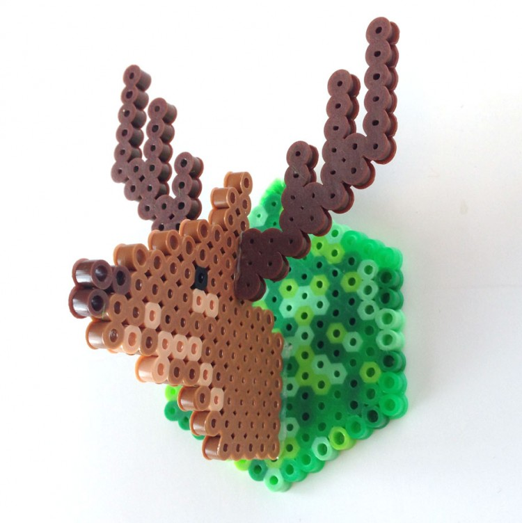 3D bead ornament (via cbc)