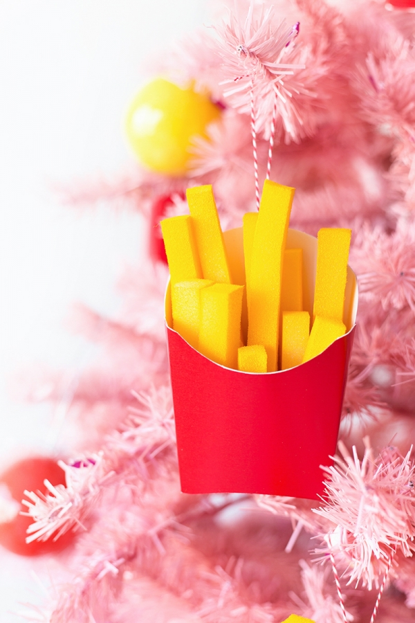 Super Fun DIY French Fries Ornaments