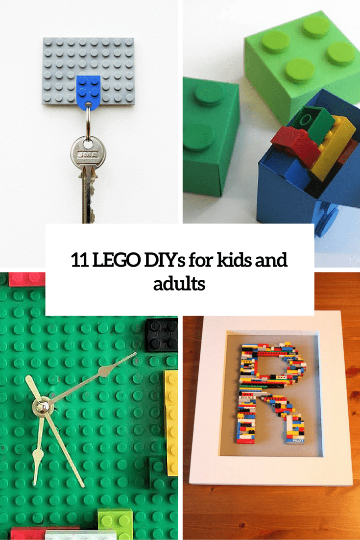11 DIY LEGO-Inspired Crafts For Kids And Adults