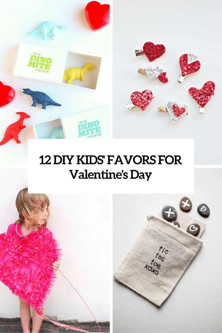 12 Easy DIY Valentine's Day Gifts For Kids