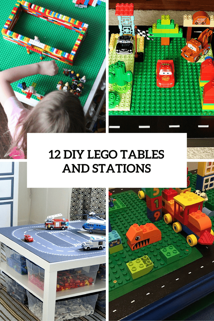 12 diy lego tables and stations cover