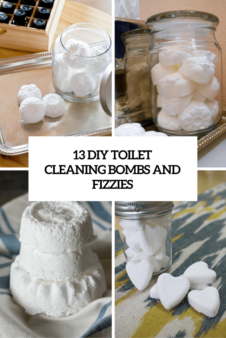 Keep It Clean: 13 DIY Toilet Bombs And Fizzies