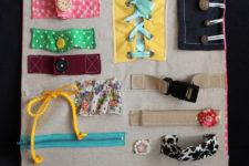 DIY montessori learning board