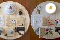 Crcle busy board
