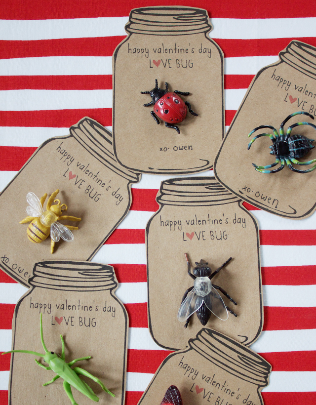 love bug valentine (via dandee-designs)