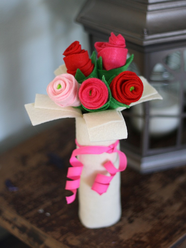 Valentine Flower Craft Ideas