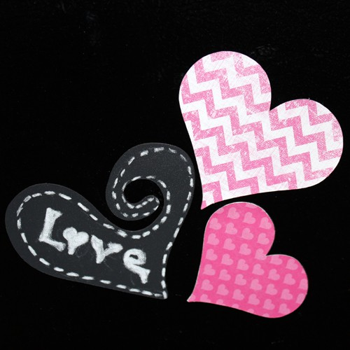 magnet paper hearts (via craft-e-corner)