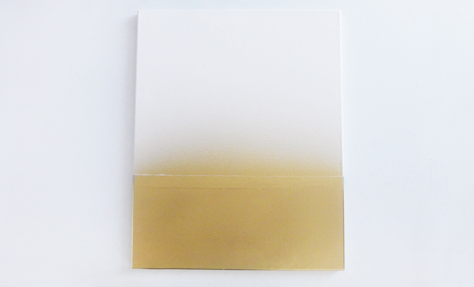 Picture Of diy faux marble and gold canvas wall art  4
