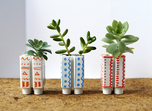Lego pots (via journeycreativity)
